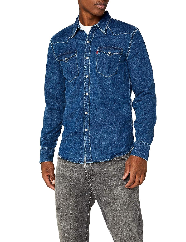 TALLA S. Levi's Barstow Western Camisa para Hombre