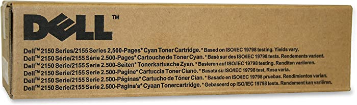 Dell 769T5 2150 2155 Toner Cartridge (Cyan) in Retail Packaging