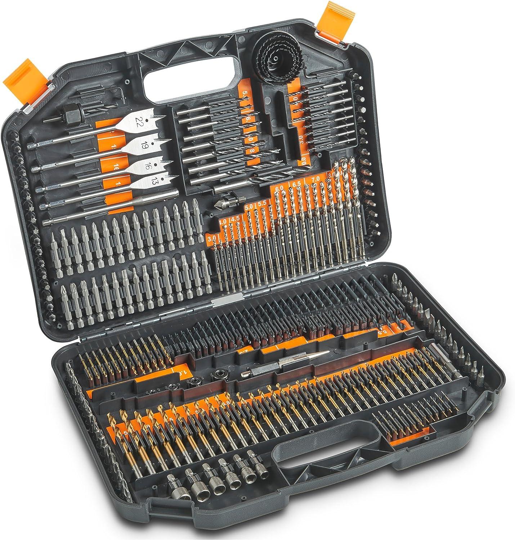 13pc Steel HSS Assorted High Speed Drill Bits Set 2mm-8mm Wood Metal Plastic NEW