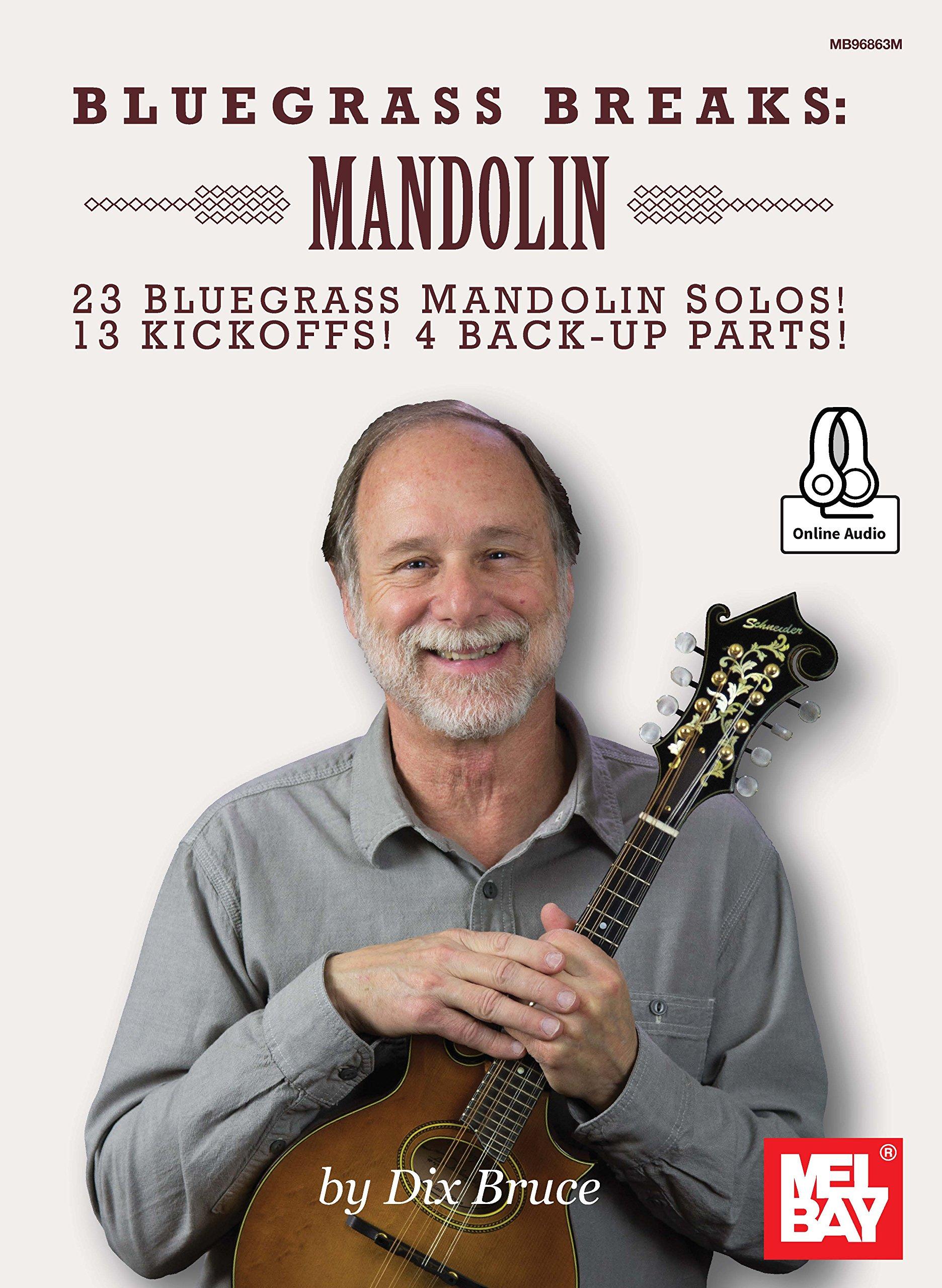 Bluegrass Breaks  Mandolin  English Edition