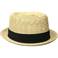 Original Penguin Mens Round Top Straw Porkpie