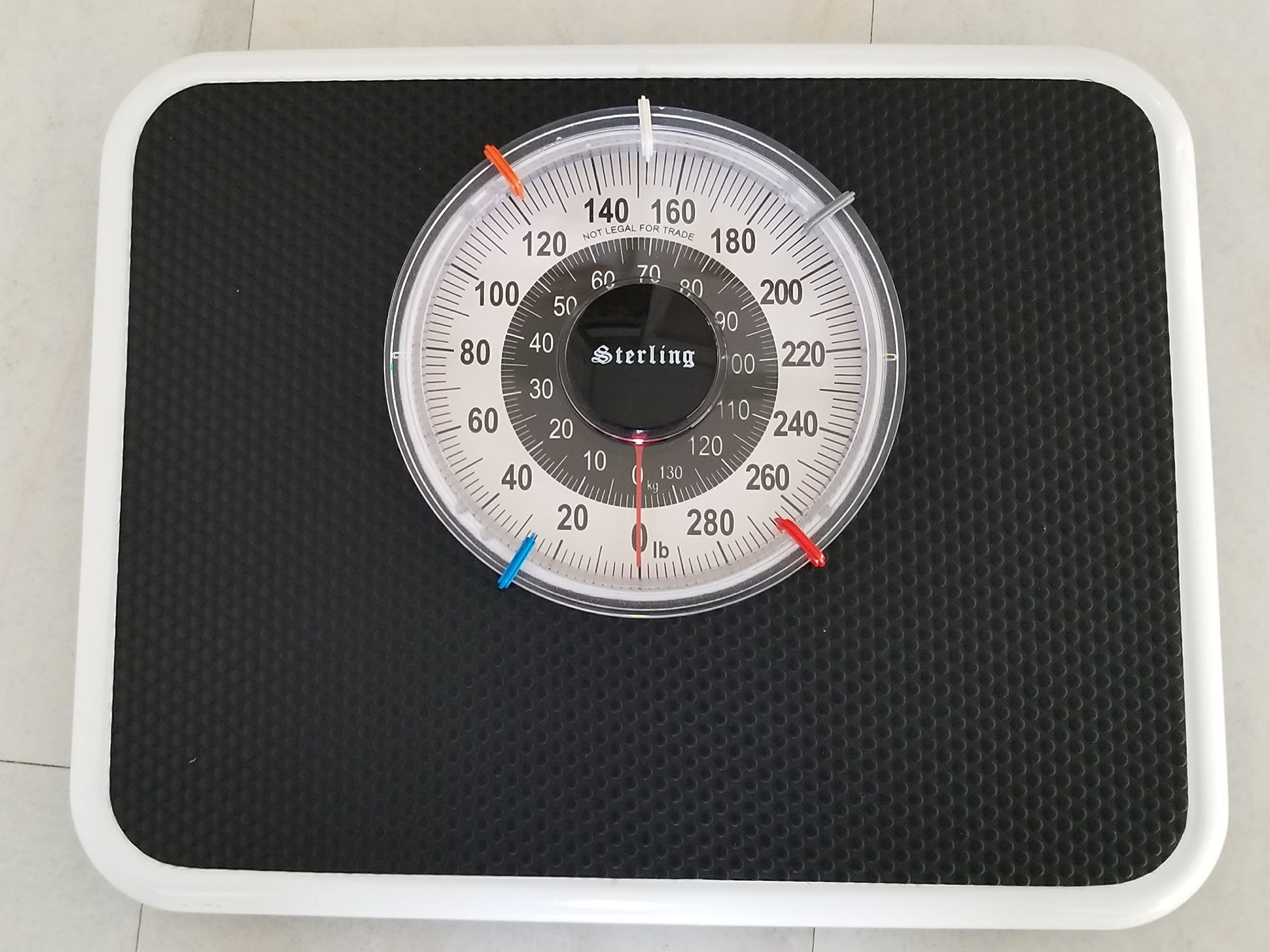 ''Turbo-X'' Bath Scale Black