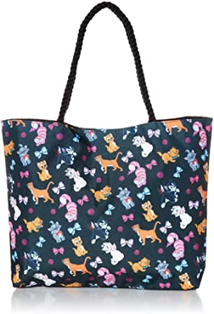 Disney Tote Travel Bag Pick: Dogs Lady Tramp Dalmatians or Cats Figaro Cheshire