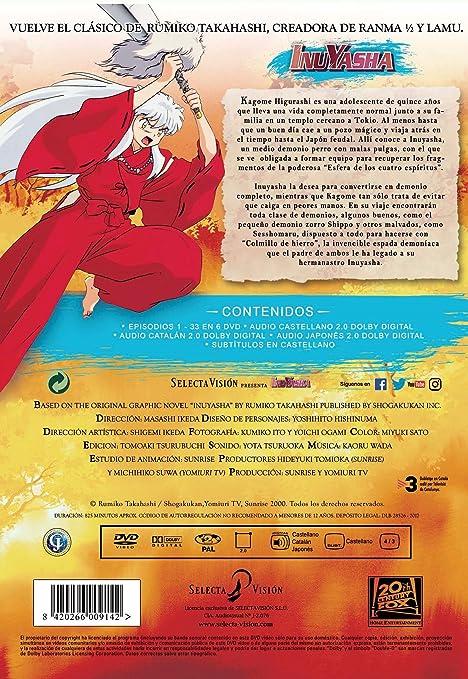 Inuyasha Inuyasha Spain Import See Details For Languages Amazon