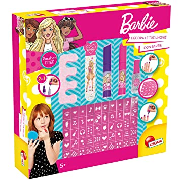 Lisciani Giochi Barbie Fashion Nail Art Ba Amazon Toys