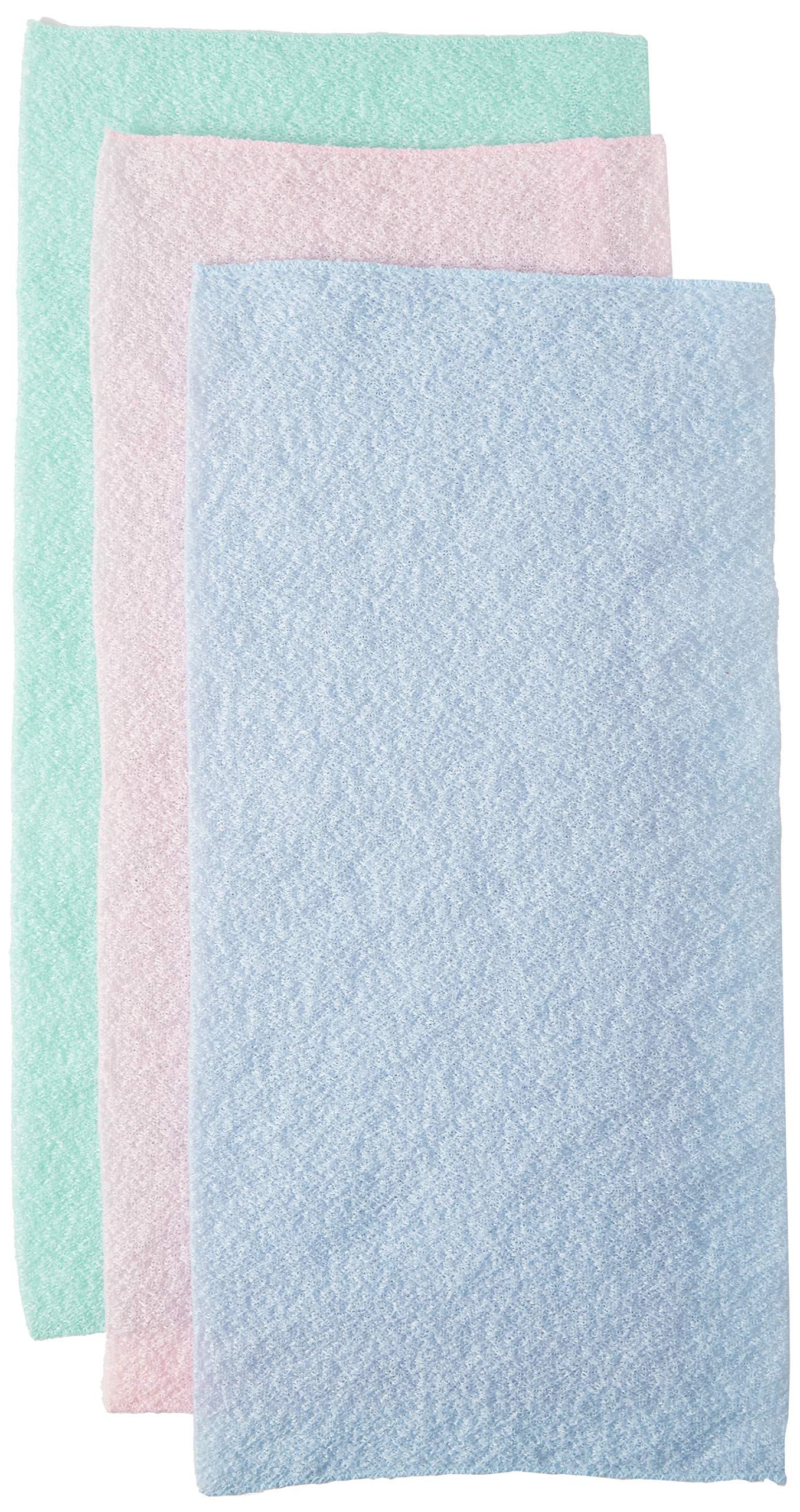 Clean Logic Stretch Bath & Shower Cloth (Assorted Colors) (6 Pack)