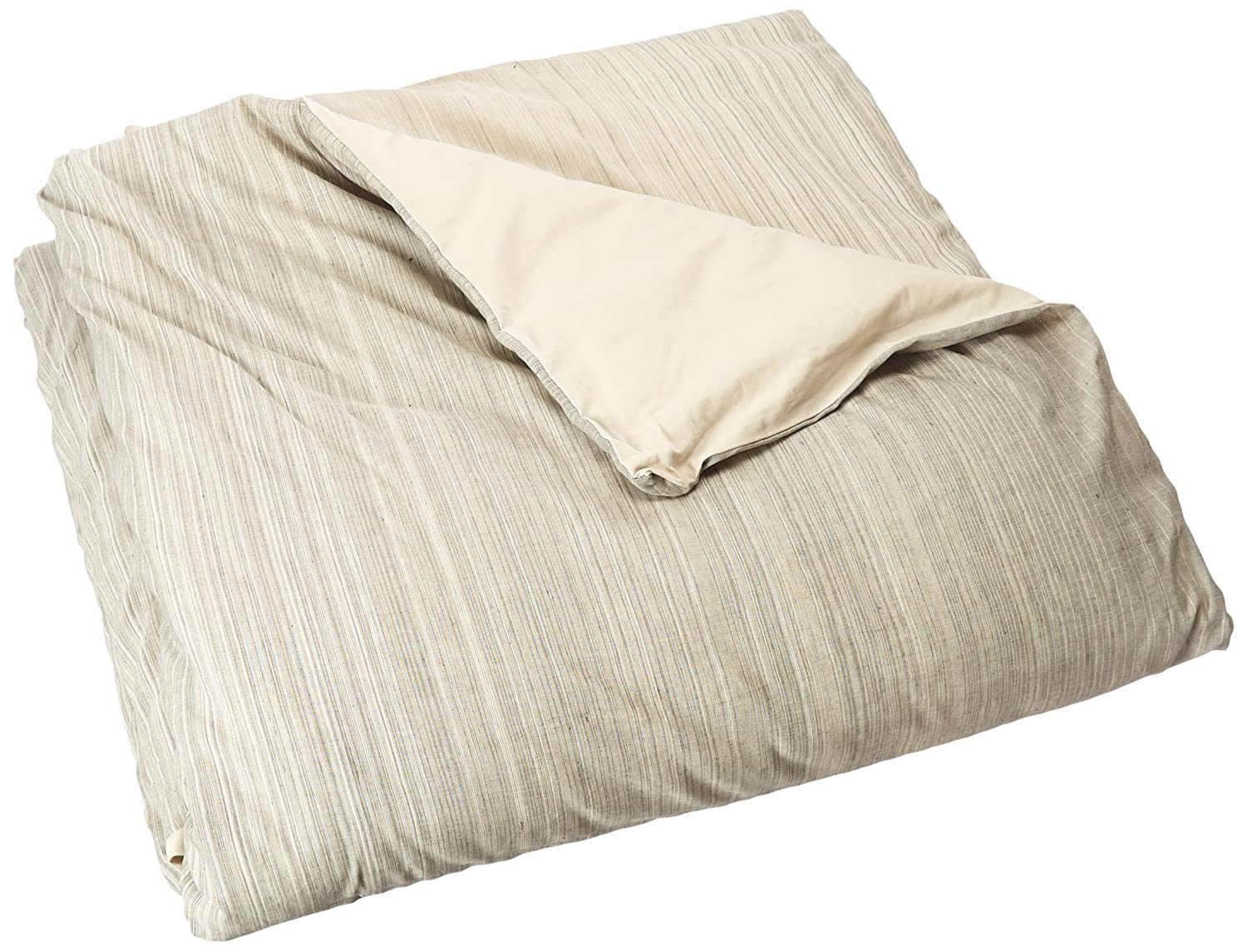 Natural Queen Unfilled Rizzy Home Sebastian Charcoal Duvet Cover