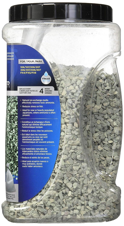 Amazon.com : Fluval A1487 98 oz Ammonia Remover Jar, 2800g : Aquarium Filter Resins : Pet Supplies
