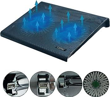 LEMEC. Base de refrigeración para PC Portátil. Iluminación LED ...