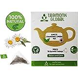 Teamonk Chamomile Green Tea, Long Leaf 10 Tea Bags