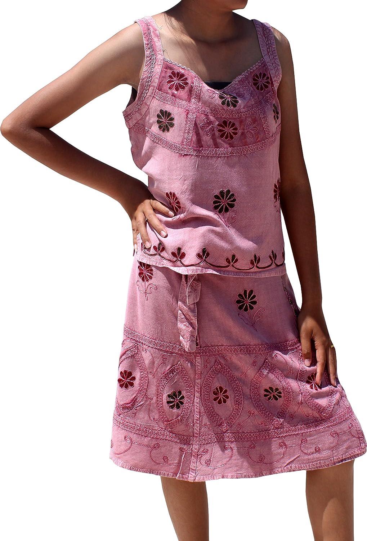 RaanPahMuang Tie Dye Spaghetti Halter Smock Bust Long Fashion Black Lava Dress