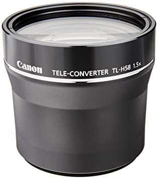 Review Canon Tele-Converter TL-H58 for