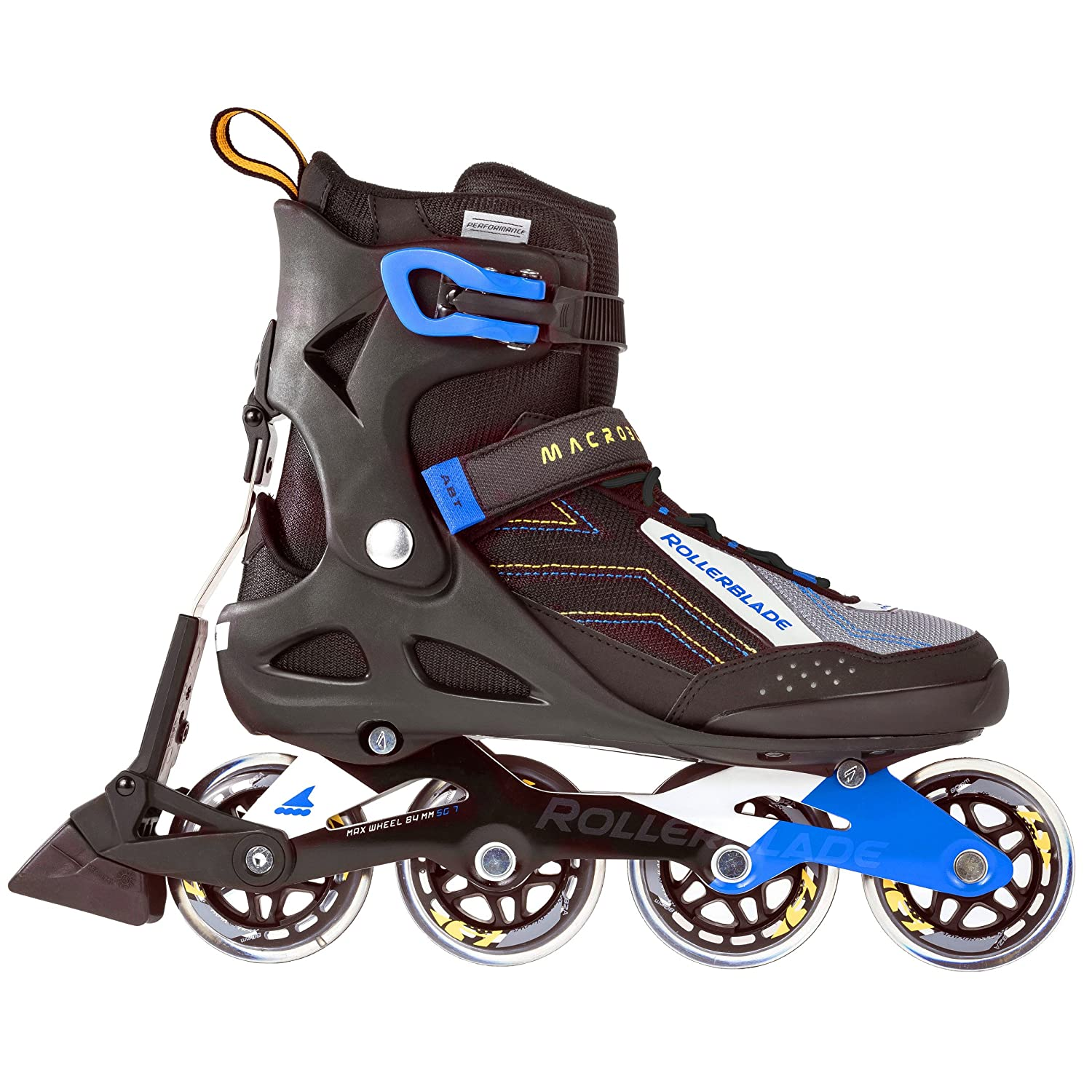 579044b5af1 Amazon.com : Rollerblade Men's Macroblade 80 ABT Skates : Sports & Outdoors