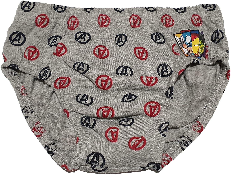 f2366a7b104dcb Marvel Confezione da 6 Slip per Bambino Bimbo Disegno Avengers Disney  Bambini e ragazzi