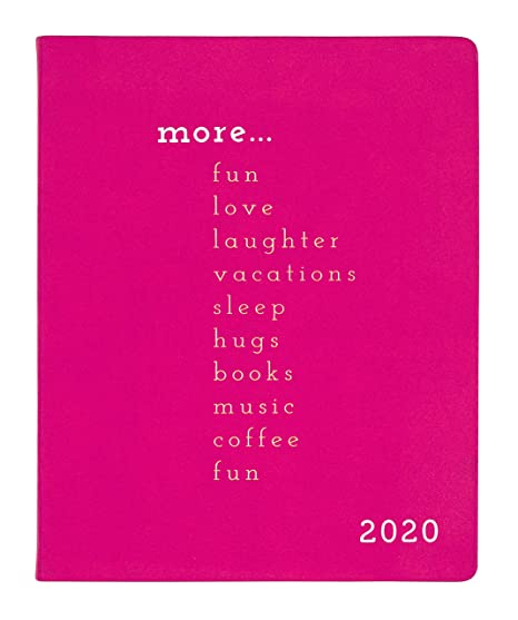 2019-2020 Eccolo Large Flexible Agenda Planner, 18 Months of Monthly & Weekly Views, 8 x 10