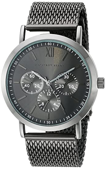 Amazon.com: Geoffrey Beene Mens GB8048GU Analog Display Japanese Quartz Grey Watch: Watches