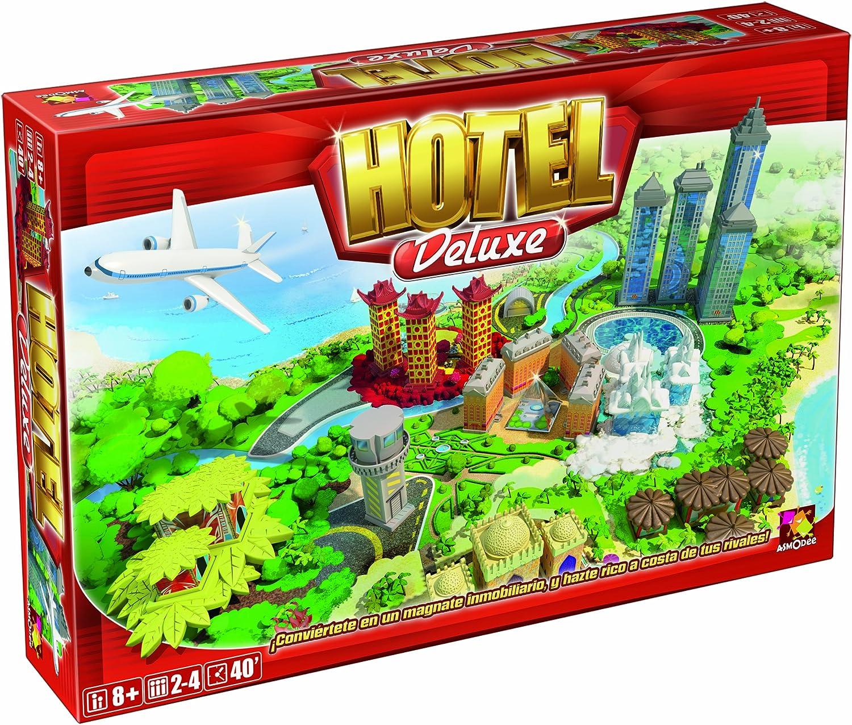 Asmodee- Hotel Deluxe - Español