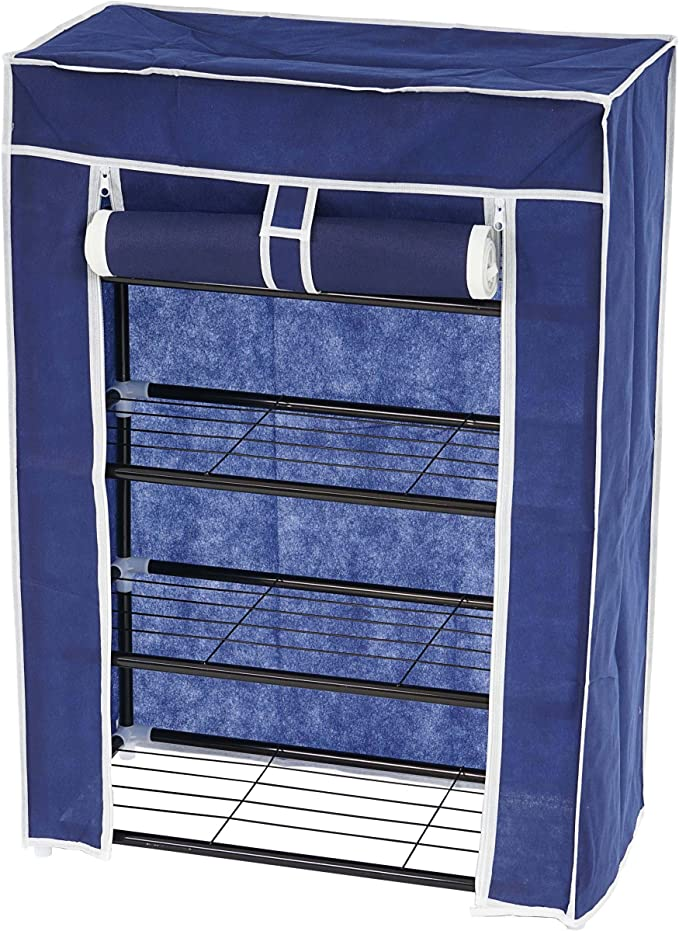 Zapatero Camping armario de tela para ropa 84 x 60 x 29 cm ...