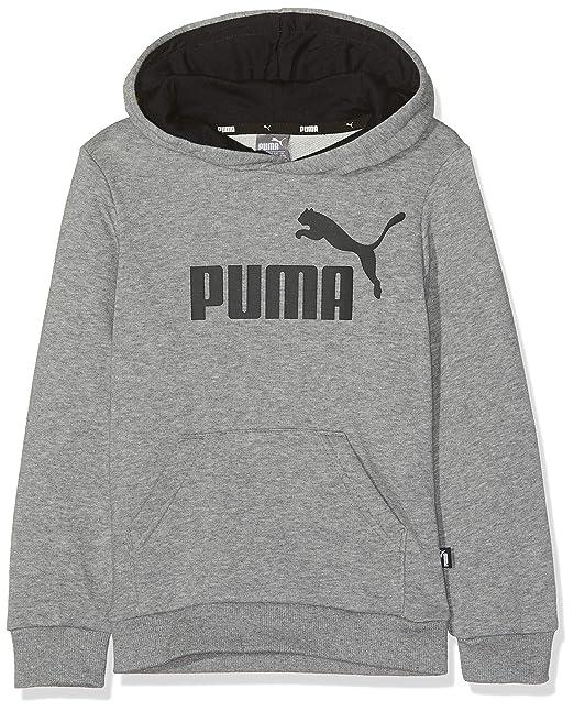 Größe 7 beliebte Geschäfte groß auswahl Puma Jungen ESS Logo Hoody Tr B Pullover: Amazon.de: Bekleidung
