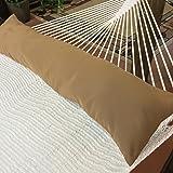 Caribbean Hammocks Double Hammock Pillow, Combo Brown