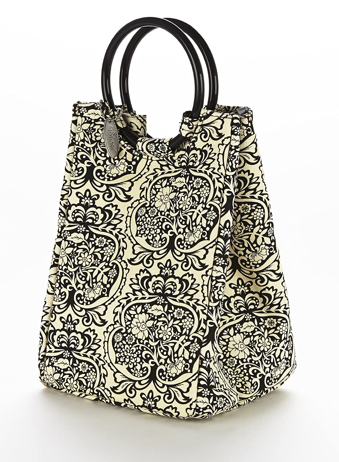 Fit & Fresh Ladies Retro Insulated Lunch Bag with Reusable Ice Pack