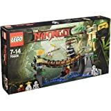 LEGO - 70608 - LEGO Ninjago - Jeu de Construction - Le Pont de la Jungle