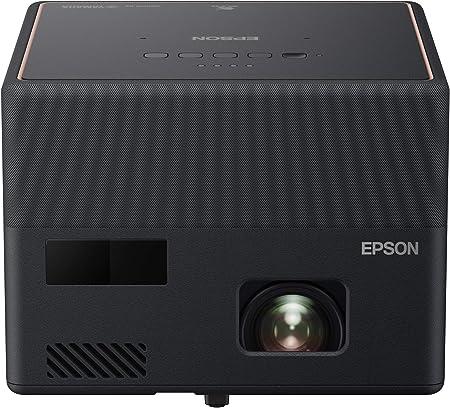 Epson Ef 12 Tragbarer 3lcd Laserprojektor Full Hd 1920x1080p 1 000 Lumen Weiß Und Farbhelligkeit Kontrastverhältnis 2 500 000 1 Nur 1 2 Kg Gewicht Integriertes Android Tv Hmdi Heimkino Tv Video