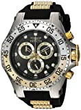 Invicta Men's 'Pro Diver' Quartz Stainless Steel and Polyurethane Casual Watch, Color: Black (Model: 21832)