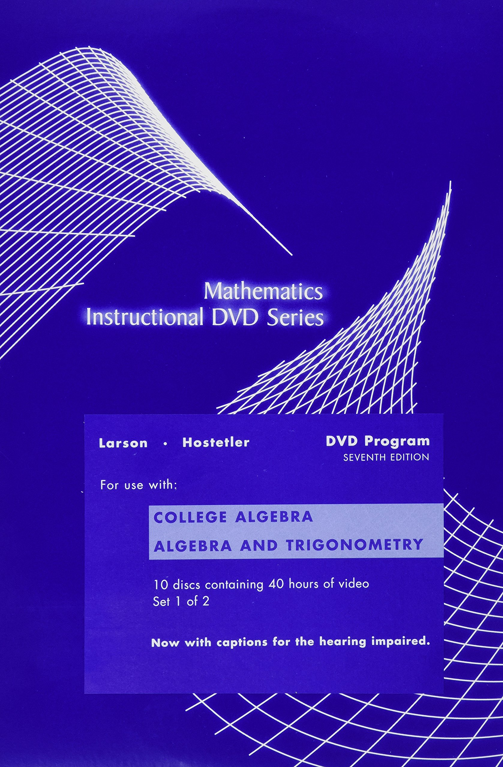 College Algebra and Trigonometry Chapters P-7, Seventh Edition