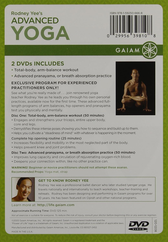 Advanced Yoga [Reino Unido] [DVD]: Amazon.es: Cine y Series TV