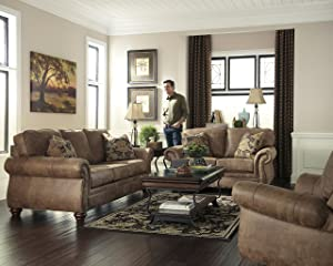 most comfortable couches. 1. Signature Design By Ashley Tallow Sofa, Earth Most Comfortable Couches