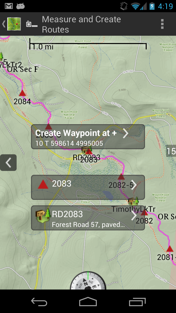 Amazon com: BackCountry Navigator PRO: Appstore for Android