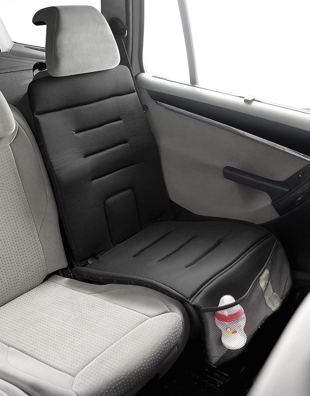 Jané 050314c01 Schutzunterlage Für Das Auto Zur Verwendung Von Kindersitzen Für Empfindliche Sitzbezüge Und Leder Rutschfest Schwarz Baby