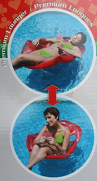 YGJT Flotador Hinchable de Una Mesa de Juego con 4 sillas para Piscina 4 Adultos: Amazon.es: Juguetes y juegos