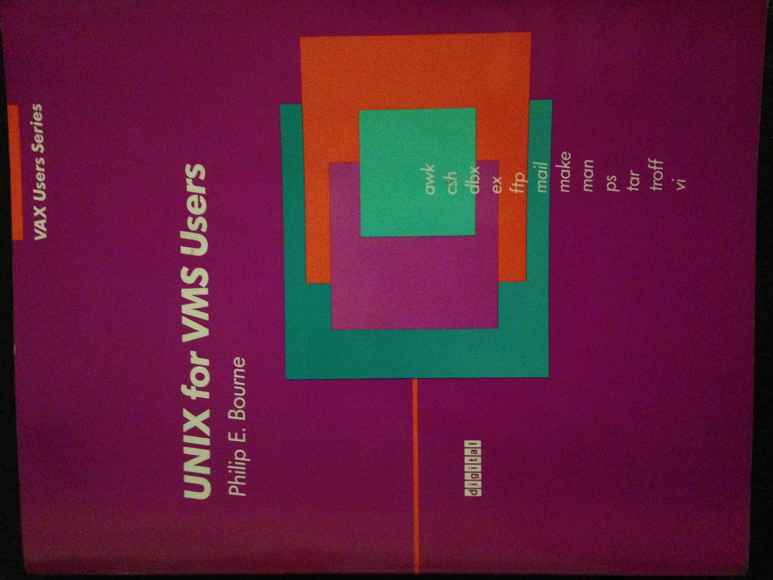 Unix for Vms Users (Digital press vax users series): Amazon