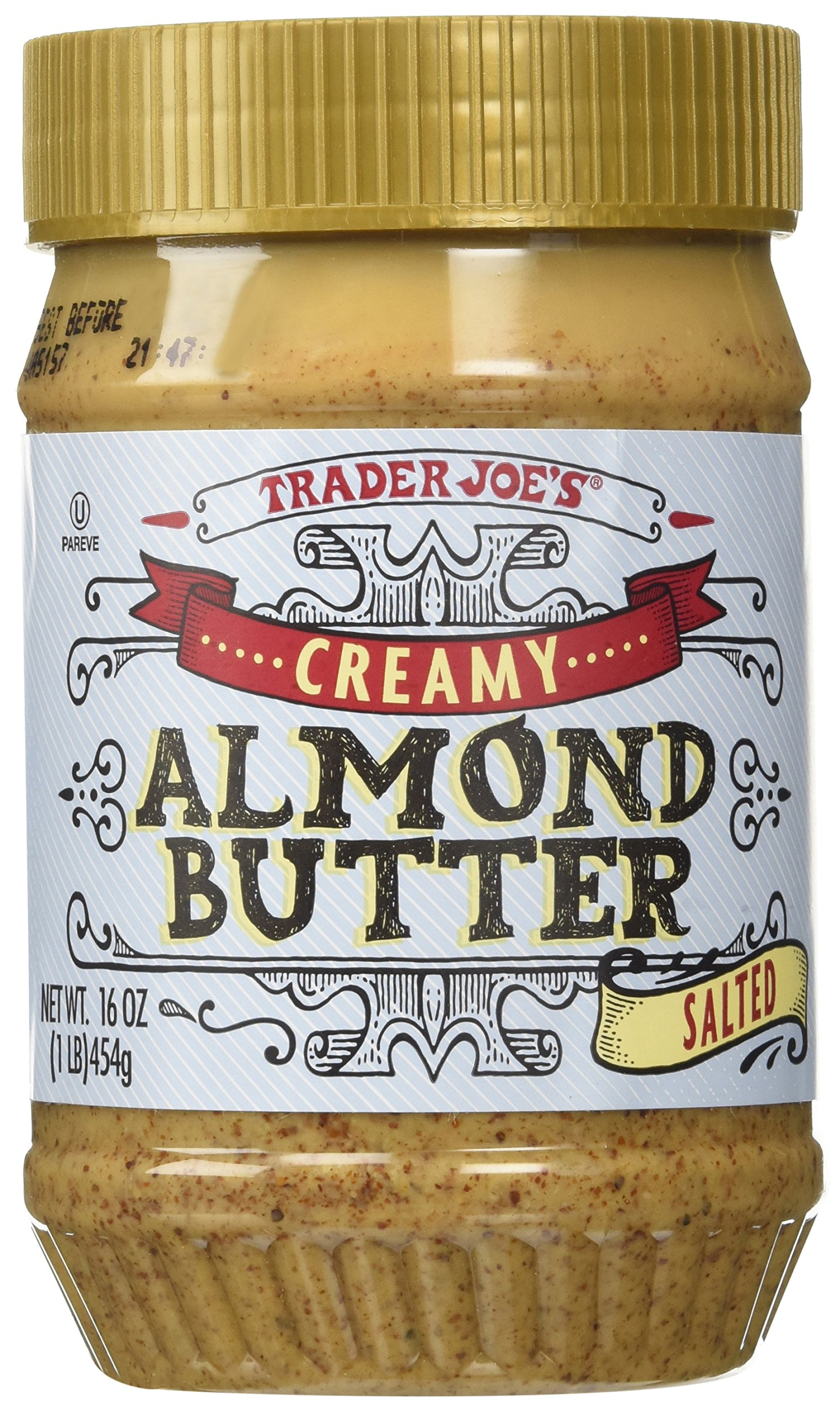 Premise Indicator Words: Amazon.com : Trader Joes Crunchy Almond Butter Salted (2