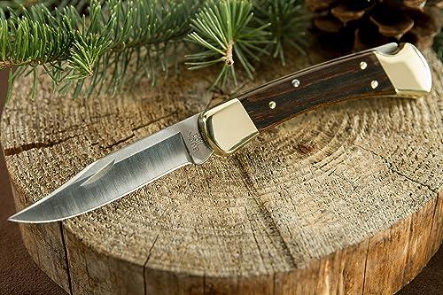 Buck Knives 110BRS Folding Hunter Knife