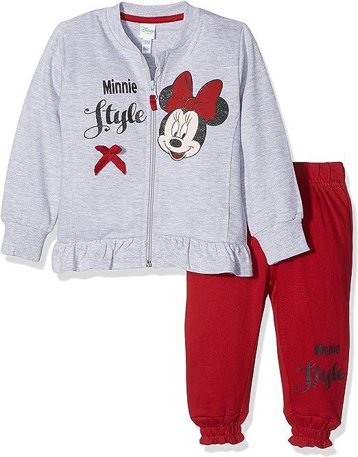 Disney 44270/AZ Chándal, Rojo (Rosso 467), 80 cm para Bebés ...