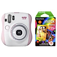 Deals on Fujifilm Instax Mini 26 + Rainbow Film Bundle