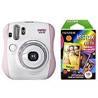 Amazon.com deals on Fujifilm Instax Mini 26 + Rainbow Film Bundle
