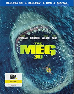 Amazon com: Meg, The (BD) [Blu-ray]: Jon Turtletaub, Jason