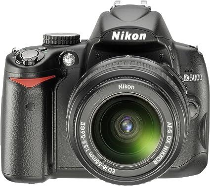Nikon D5000 Slr Digitalkamera Kit Inkl 18 55ii Kamera