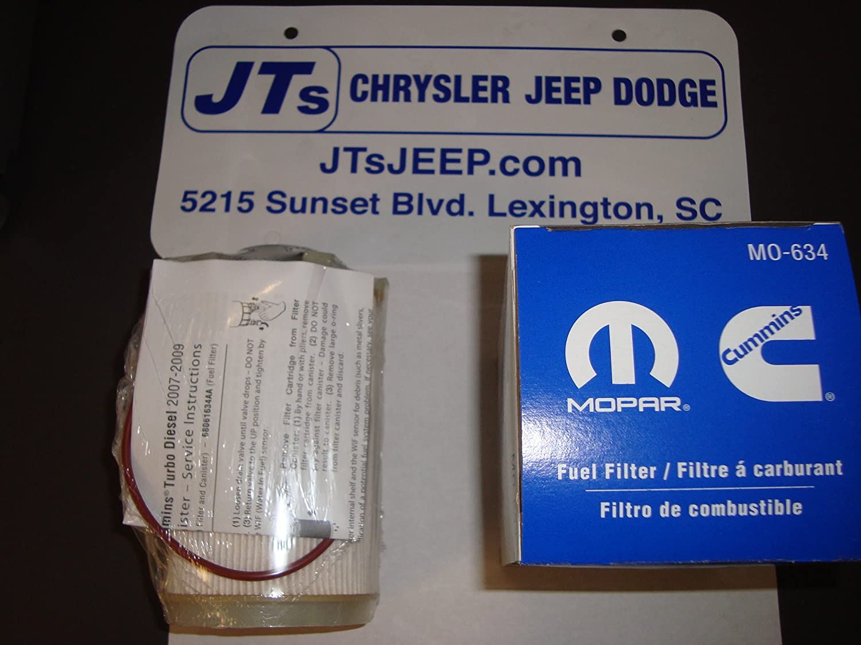 Mopar 6806 1634aa Fuel Filter Automotive 2009 Jeep Wrangler