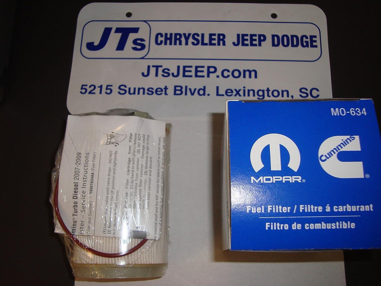 Mopar 6806 1634aa Fuel Filter Automotive Jeep