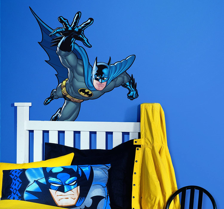 Amazon.com: RoomMates RMK1149GM Batman: Gotham Guardian Giant Peel U0026 Stick Wall  Decal: Home Improvement
