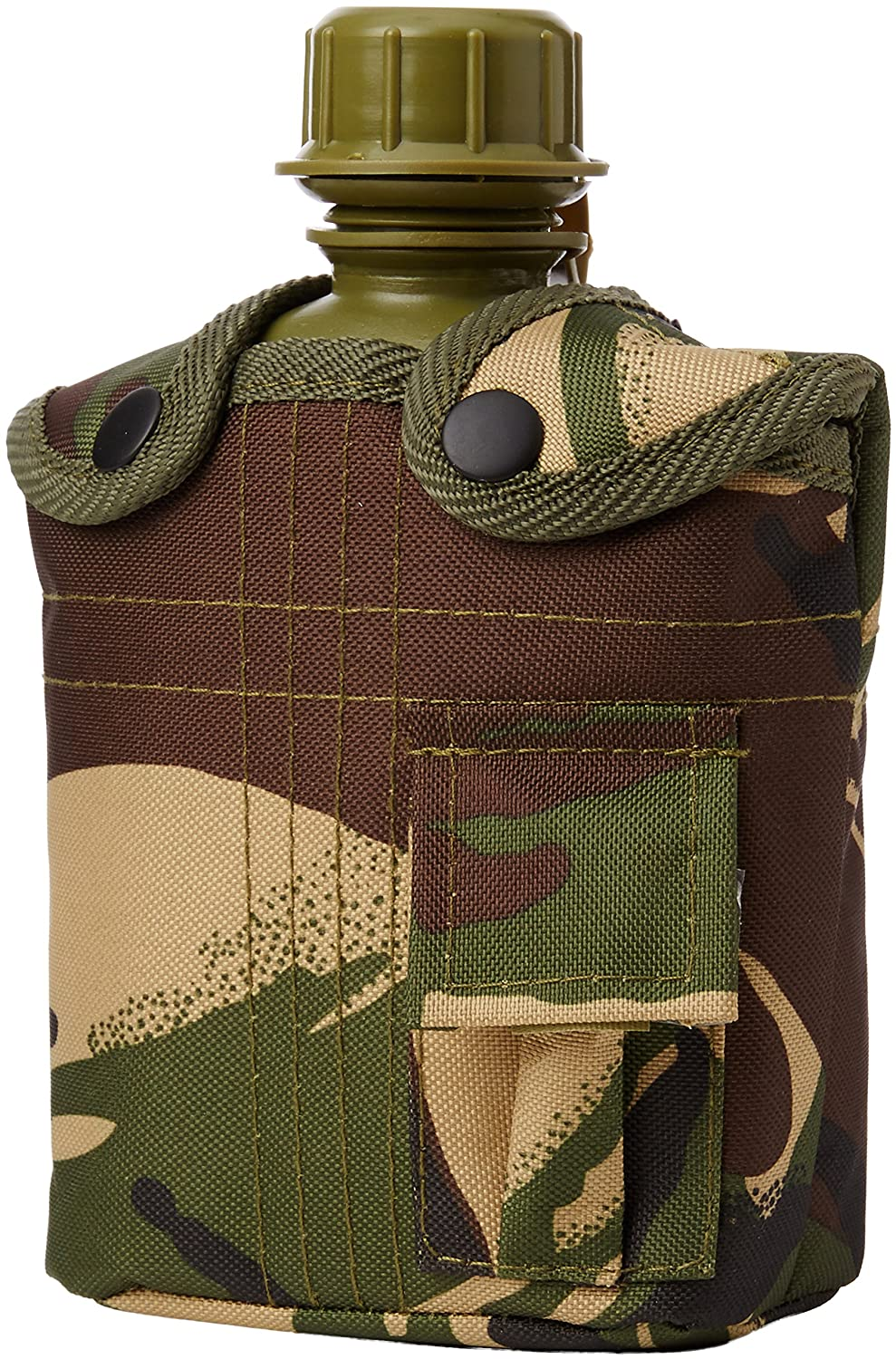 Highlander British DPM Plastic Water Bottle in Camo Cover