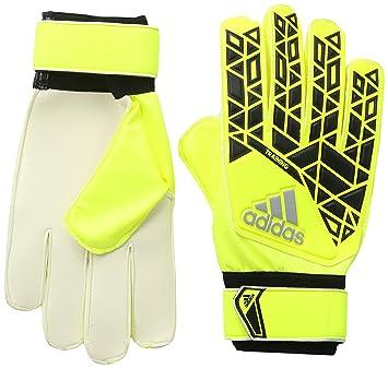 adidas ACE TRAINING - Goalkeeper - Gloves for Men, 7, Yellow/Black/