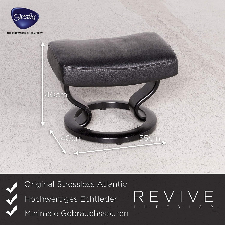 Stupendous Amazon Com Stressless Atlantic M Designer Leather Armchair Creativecarmelina Interior Chair Design Creativecarmelinacom