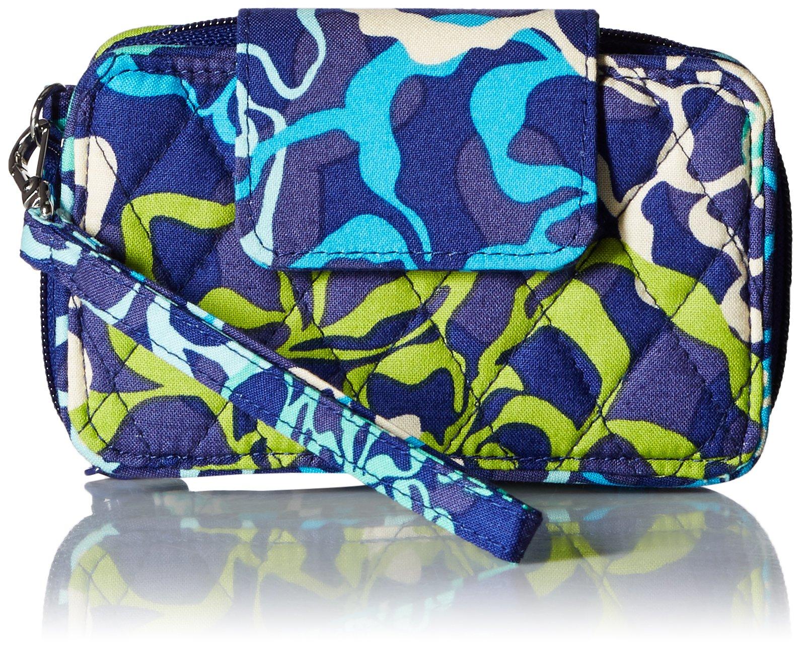 Vera Bradley Smartphone Wristlet 2.0 Wallet, Katalina Blues, One Size