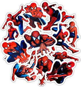 Spiderman Stickers for Vinyl Decal-for Teens,Kids,Car, Window, Bumper, Laptop, MacBook, Water Bottle (Spiderman)